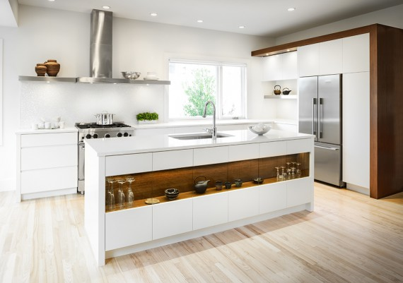 Gold - Jason Good Custom Cabinets and Mada Construction - Bianco
