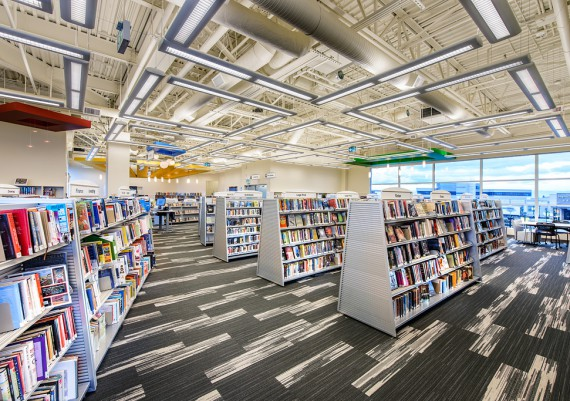 Gold - Story Construction Ltd. - Greater Victoria Public Library - Emily Carr Branch