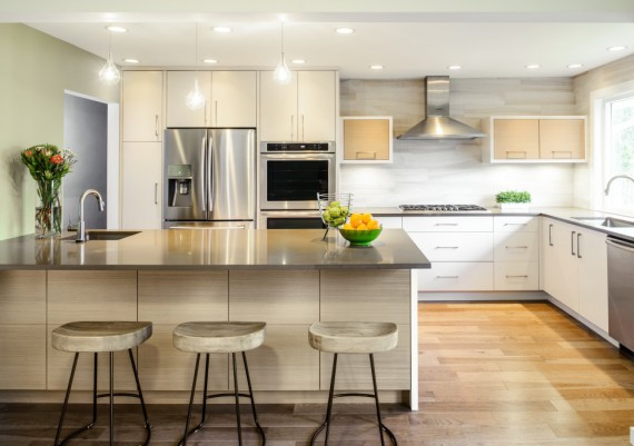 Silver - Jason Good Custom Cabinets and Story Construction Ltd. - Fairview Residence