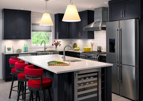 Silver - Jenny Martin Design, Maximilian Huxley Construction and South Shore Cabinetry - Oro