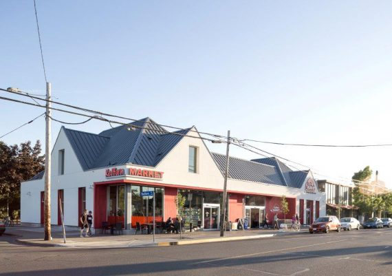 Silver - Gorter Construction Ltd. - Red Barn Market - Oak Bay Ave. - after