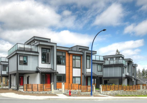 Gold (tie) - Westhills Land Corp,. Victoria Design Group Ltd. and Verity Construction - Westhills Small Footprint Homes
