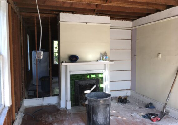 Gold - MacMinn Contracting - Ross Bay - before