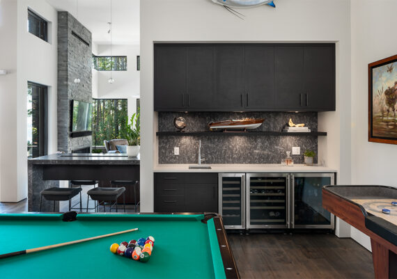 Silver - Jenny Martin Design and Thomas Philips Woodworking - Cove Residence